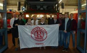 2015-02-24, Hamm, Hauptfeuerwache, Vortrag Tigges und Führung für ROTARACT